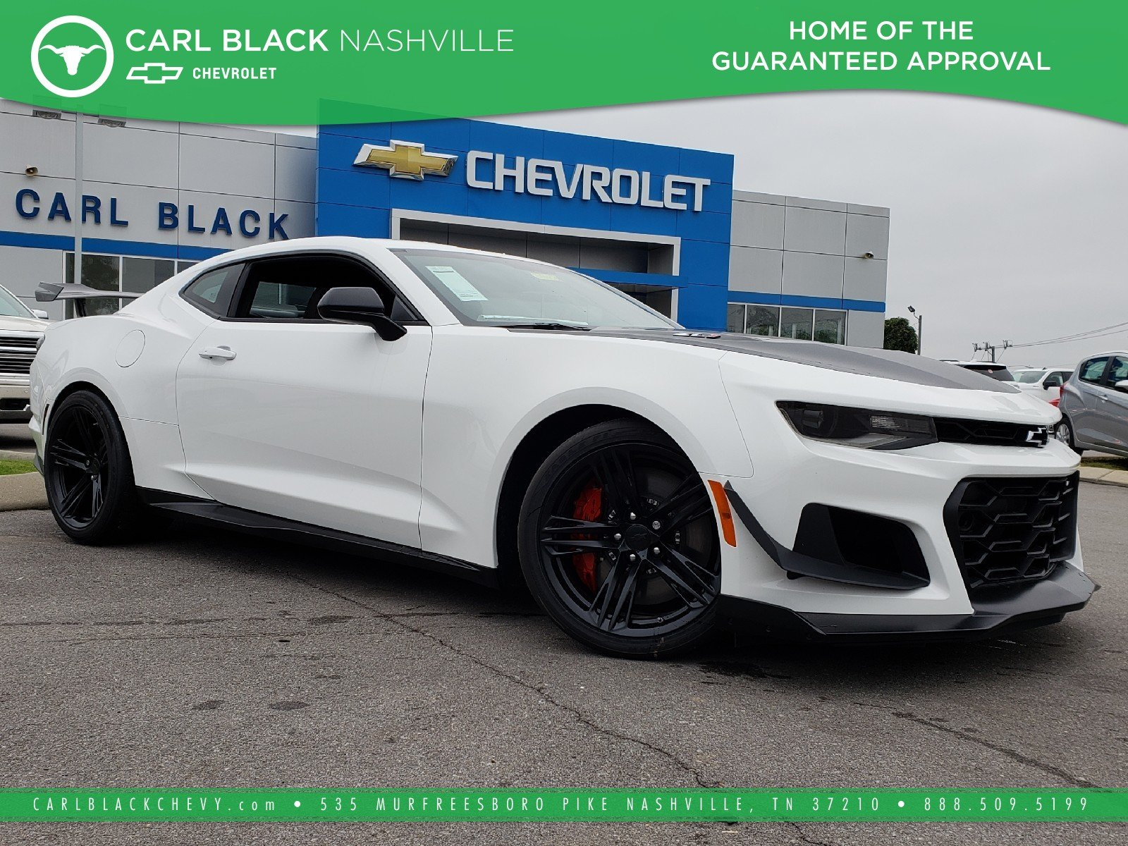 New 2019 Chevrolet Camaro Zl1 2dr Car In Nashville 3190160 Carl