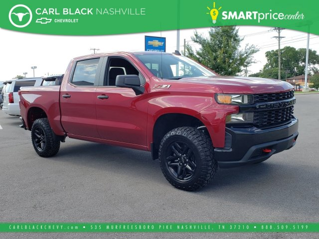 Pre Owned 2019 Chevrolet Silverado 1500 Custom Trail Boss Crew Cab