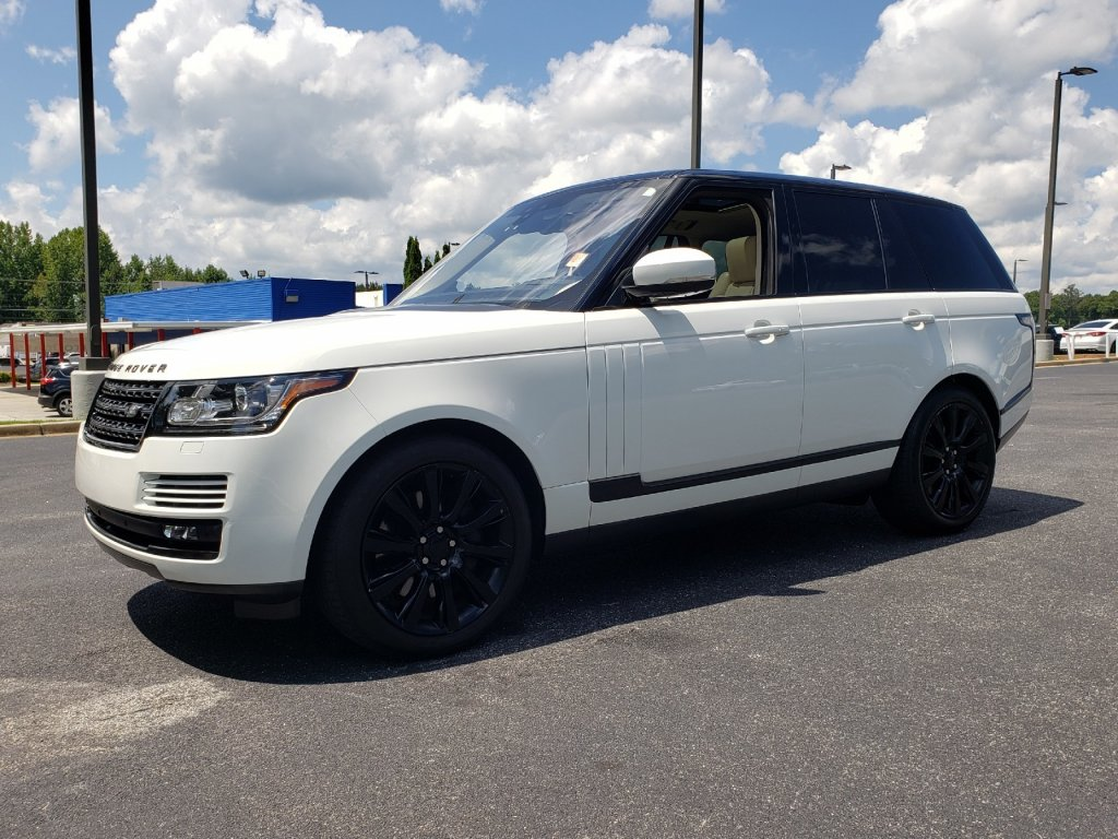 Pre-Owned 2017 Land Rover Range Rover Supercharged