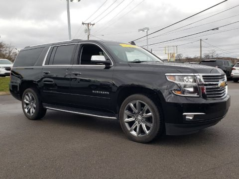 Pre-Owned 2018 Chevrolet Suburban Premier With Navigation & 4WD
