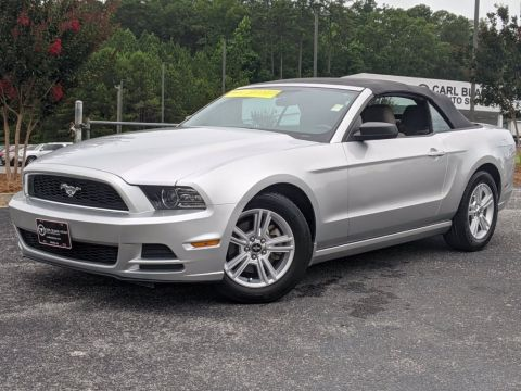 Pre-Owned 2014 Ford Mustang V6 Premium RWD Convertible