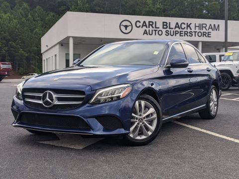 Pre-Owned 2019 Mercedes-Benz C-Class C300 RWD 4dr Car