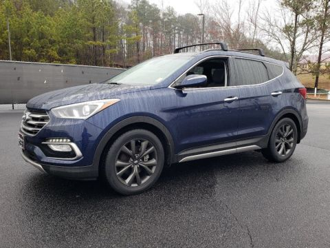 Pre-Owned 2017 Hyundai Santa Fe Sport Ultimate With Navigation