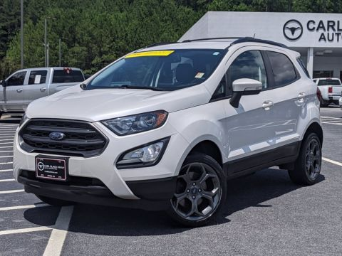 Pre-Owned 2018 Ford EcoSport SES With Navigation & 4WD